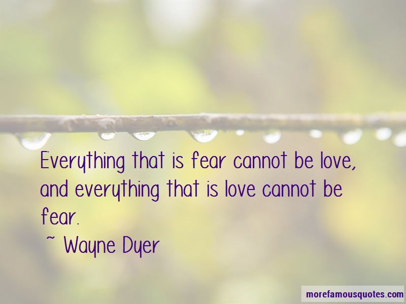 Cannot Be Love Quotes