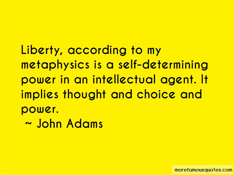 Choice And Power Quotes