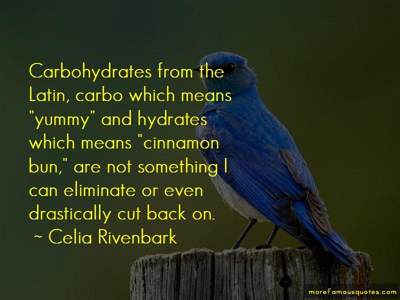 Cinnamon Bun Quotes