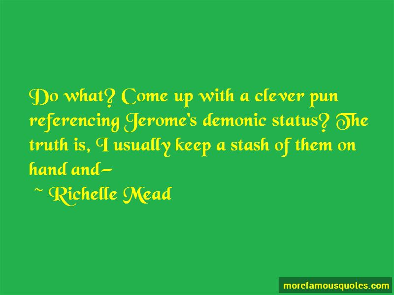 Clever Pun Quotes