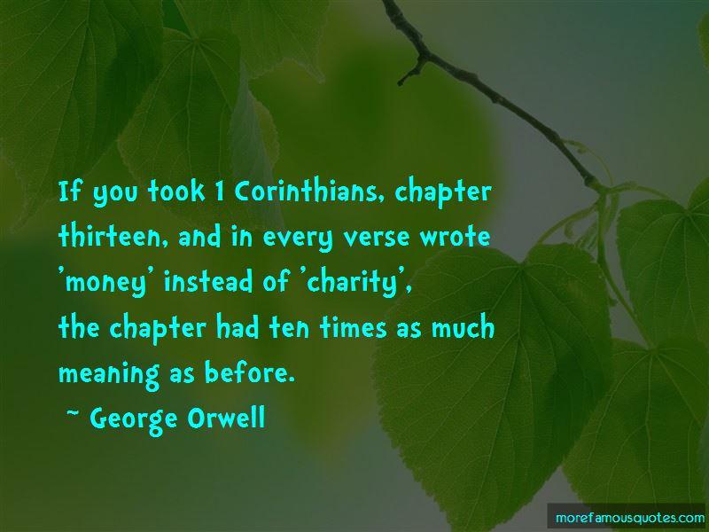 Corinthians Charity Quotes Pictures 2