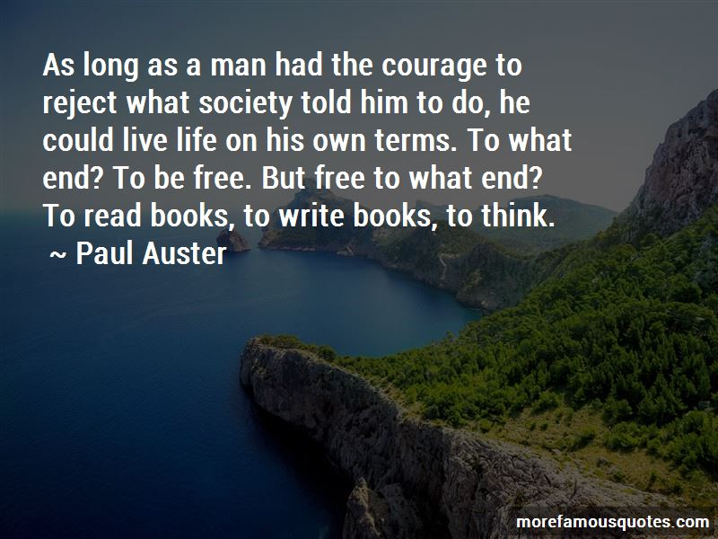 Courage To Live Life Quotes