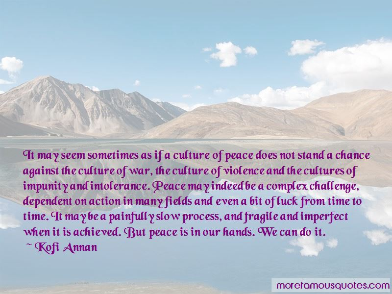 Culture Of Violence Quotes