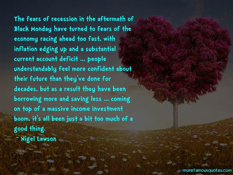 Current Account Deficit Quotes