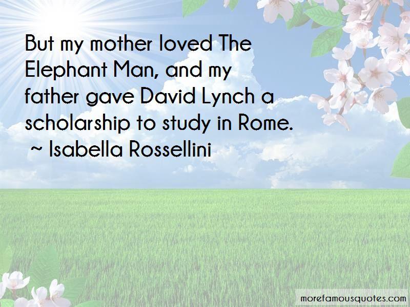 David Lynch The Elephant Man Quotes