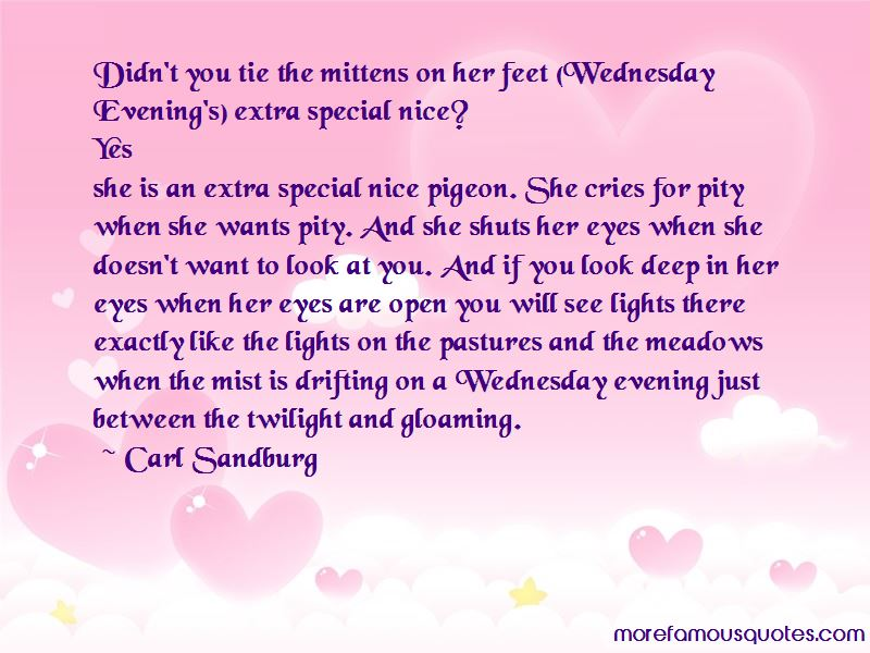 Deep In Her Eyes Quotes