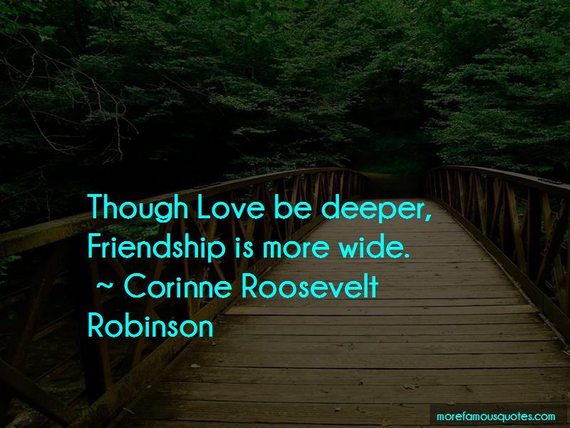 Deeper Friendship Quotes