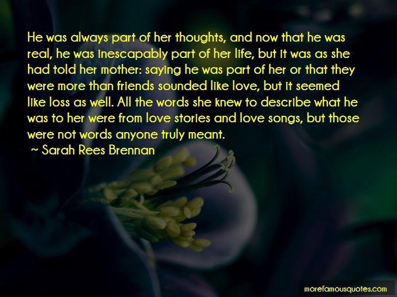 Describe My Love Quotes