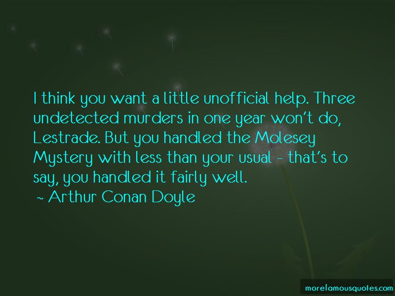 Di Lestrade Quotes Pictures 3