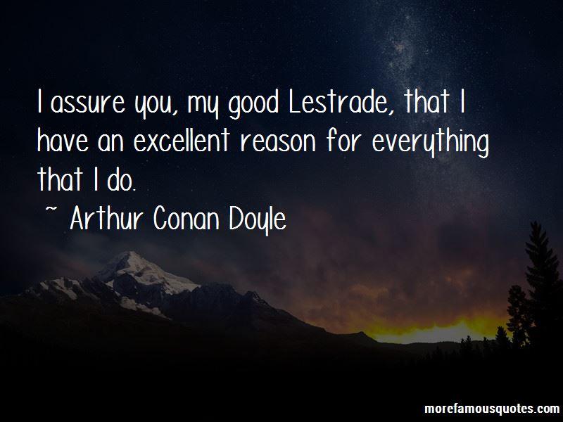Di Lestrade Quotes