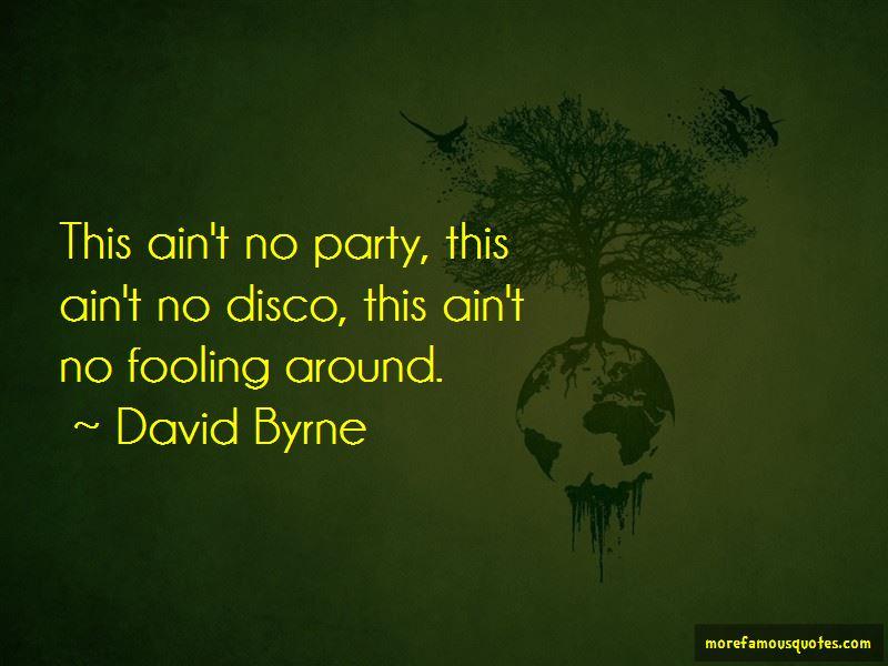 Disco Party Quotes