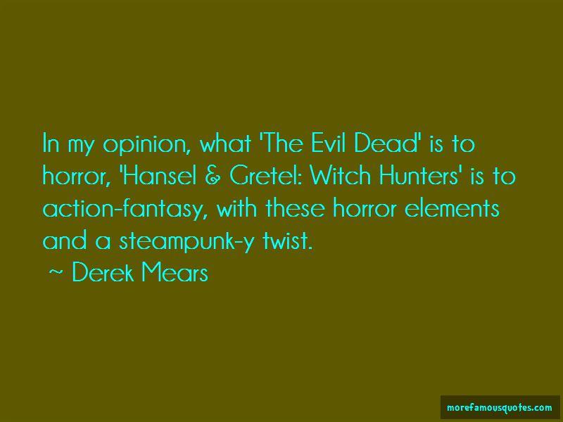 Evil Dead Quotes