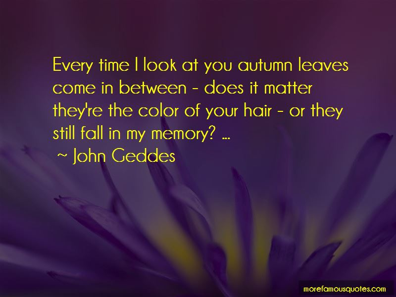 Fall Hair Color Quotes Pictures 3