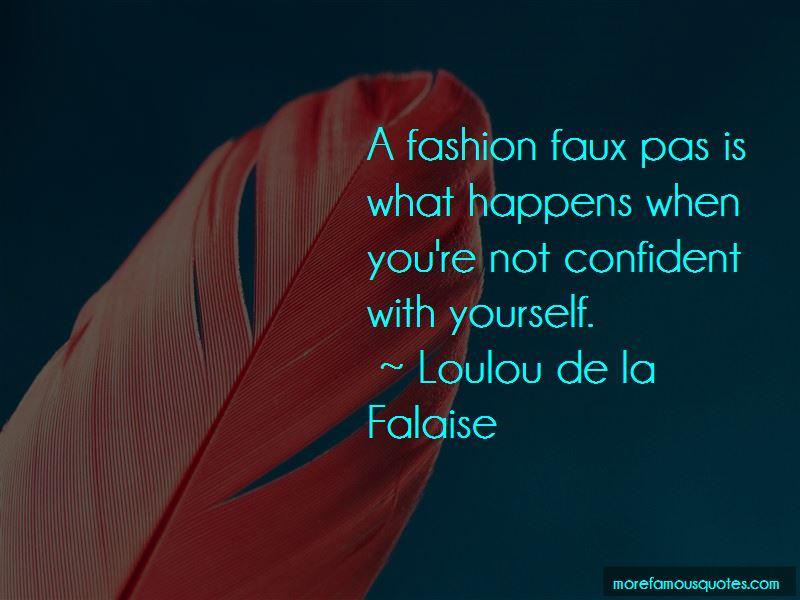 Fashion Faux Pas Quotes Pictures 4