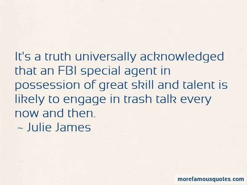 Fbi Special Agent Quotes
