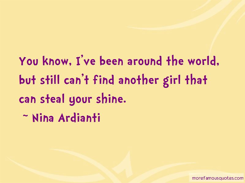 Find Another Girl Quotes