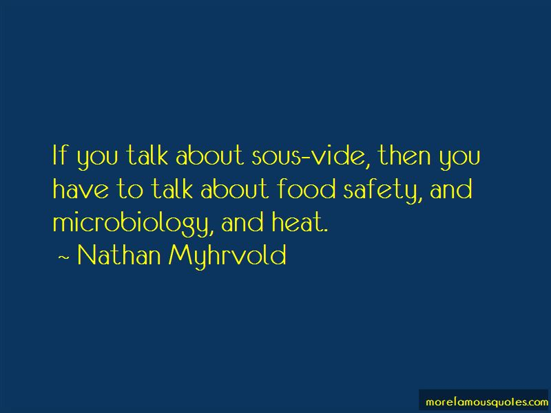 Food Microbiology Quotes