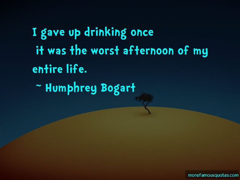 Gave Up Drinking Quotes Pictures 3