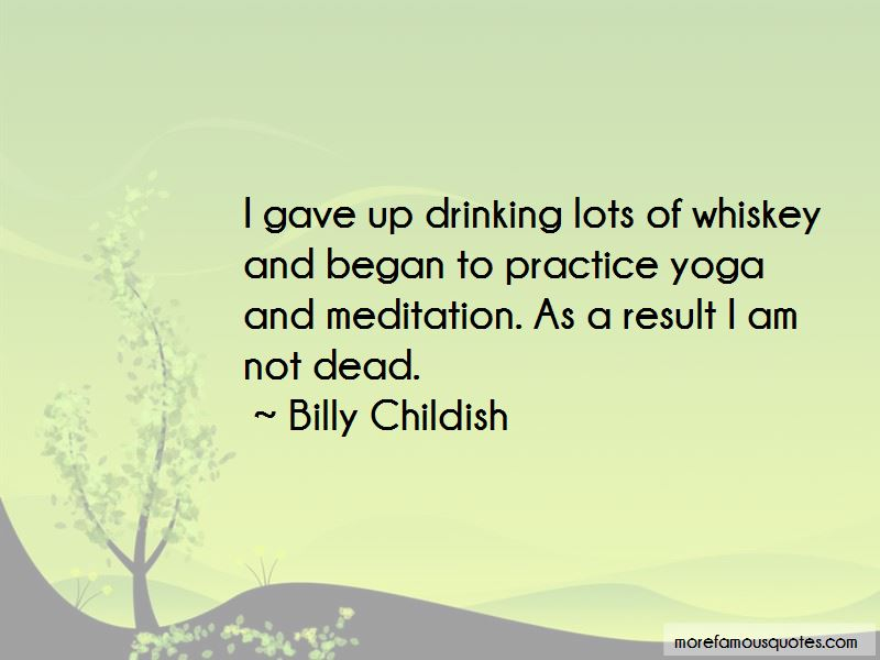 Gave Up Drinking Quotes Pictures 4