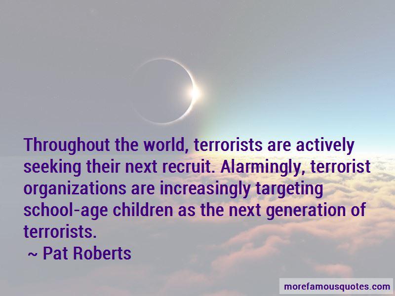 Generation Terrorist Quotes
