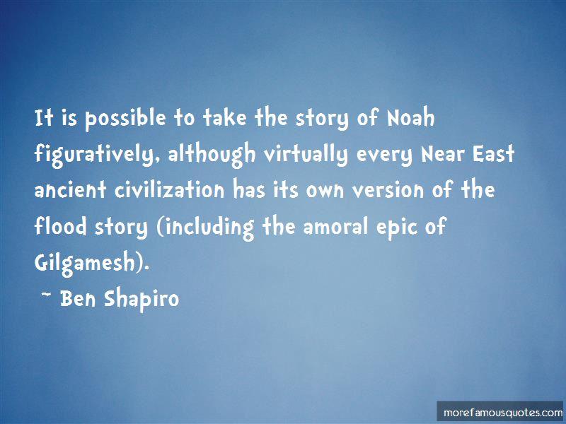 Gilgamesh Flood Story Quotes