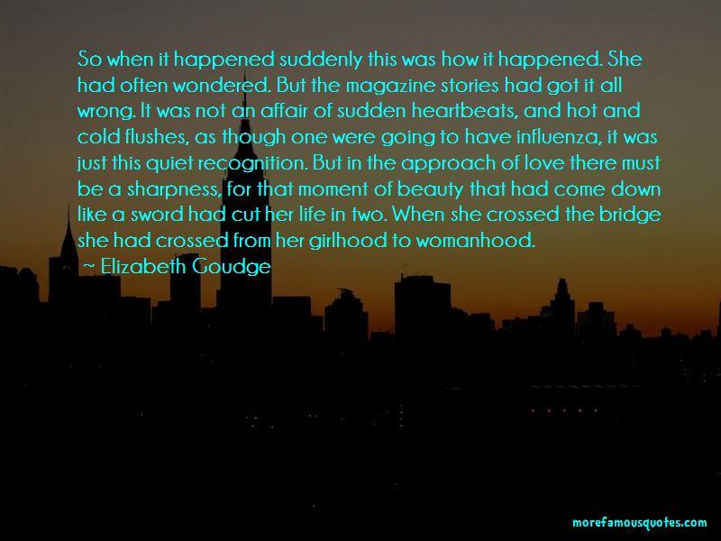 Girlhood To Womanhood Quotes