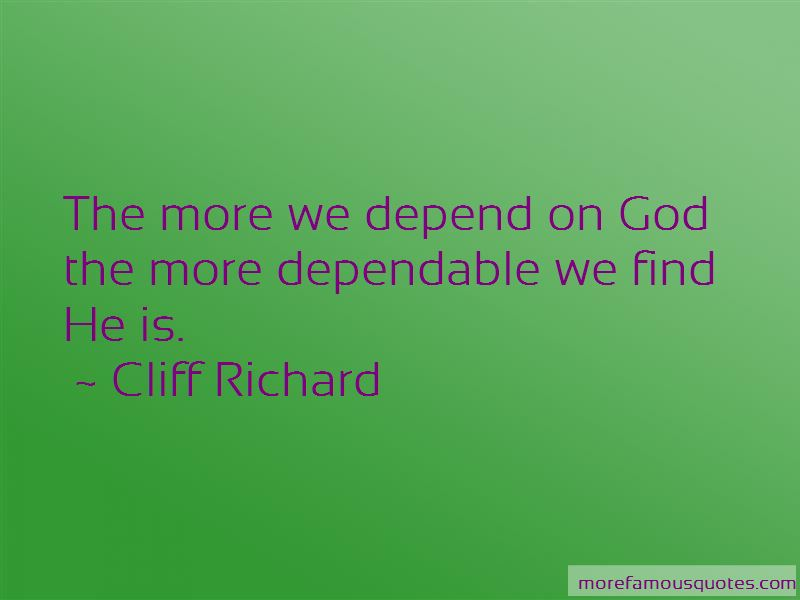 God Is Dependable Quotes Pictures 3