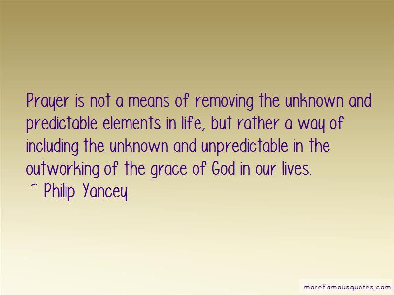 God Is Unpredictable Quotes