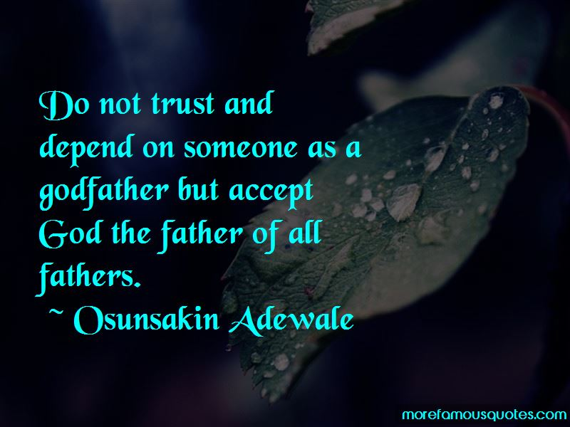 Godfather Trust Quotes Pictures 2