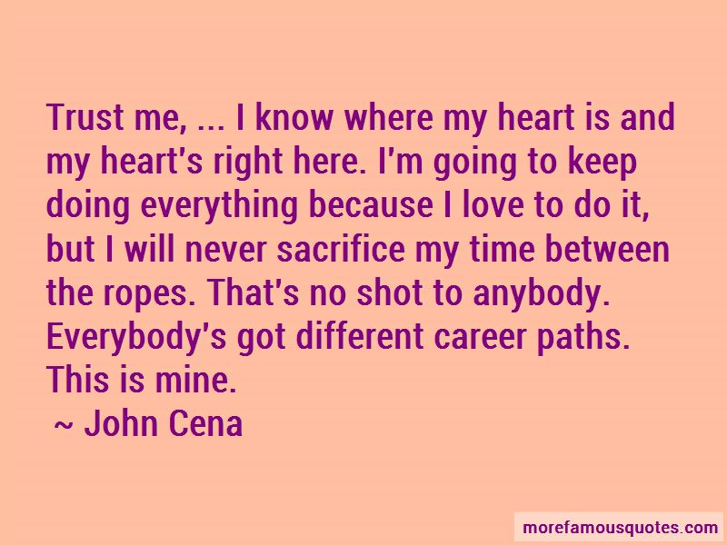 Going Different Paths Quotes