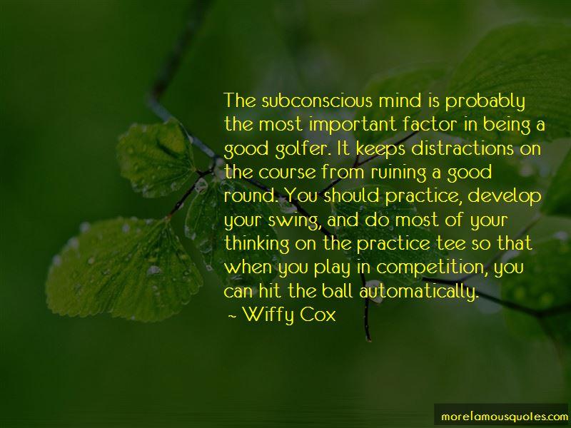 Good Golfer Quotes