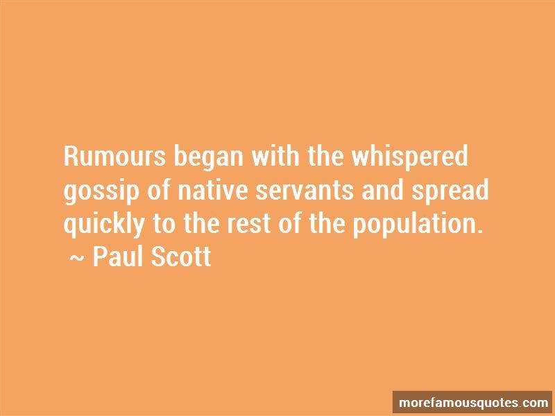 Gossip Rumours Quotes