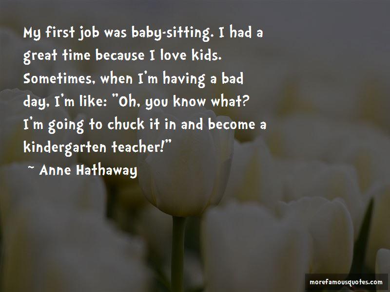 Great Kindergarten Teacher Quotes