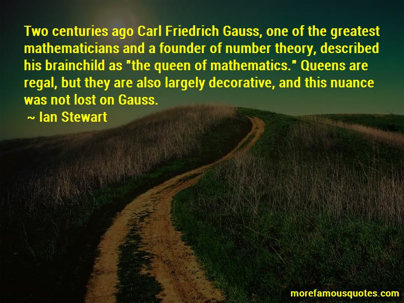 Greatest Mathematicians Quotes