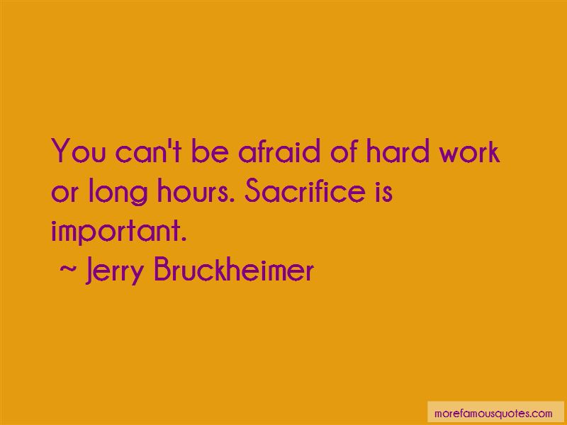 Hard Work Long Hours Quotes