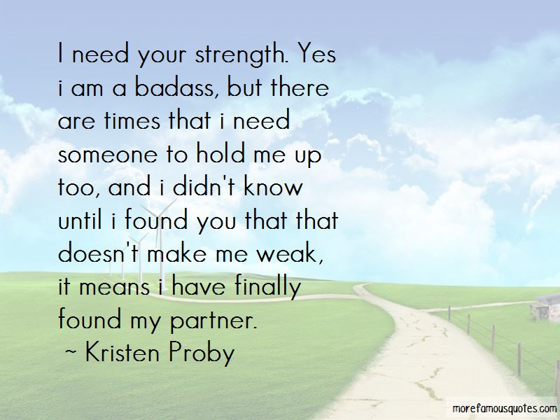 Hold Me Up Quotes