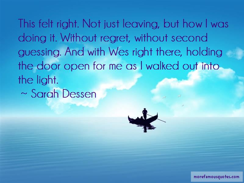 Holding The Door Open Quotes Pictures 3