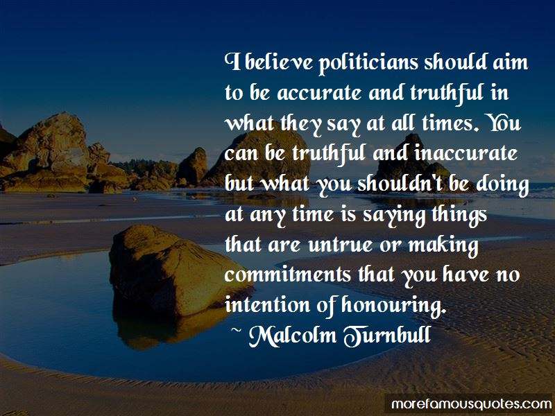 Honouring Commitments Quotes