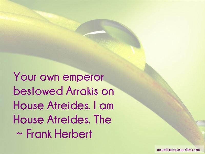 House Atreides Quotes