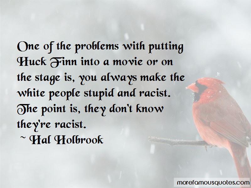 huck finn not racist