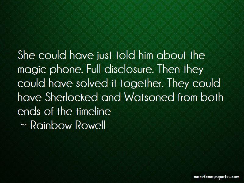 I Am Sherlocked Quotes