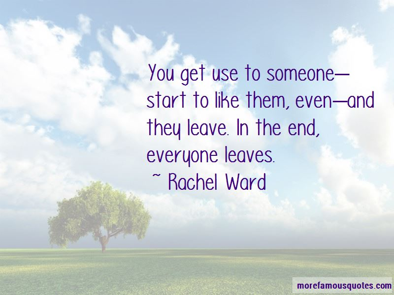 If Someone Leave You Quotes