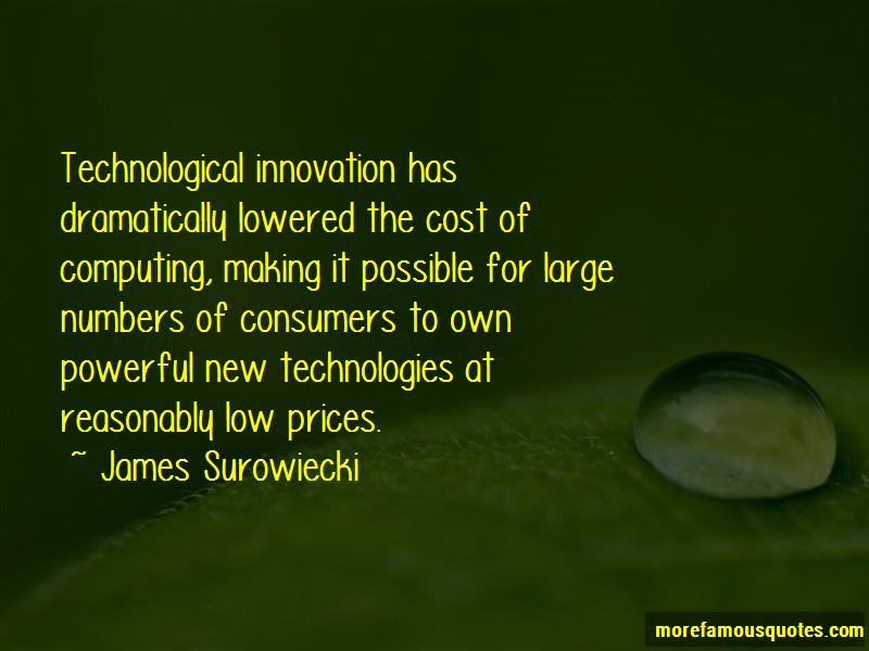 Innovation Technologies Quotes