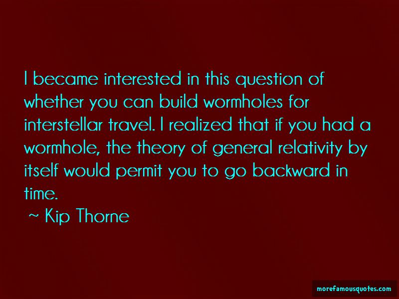 Interstellar Wormhole Quotes