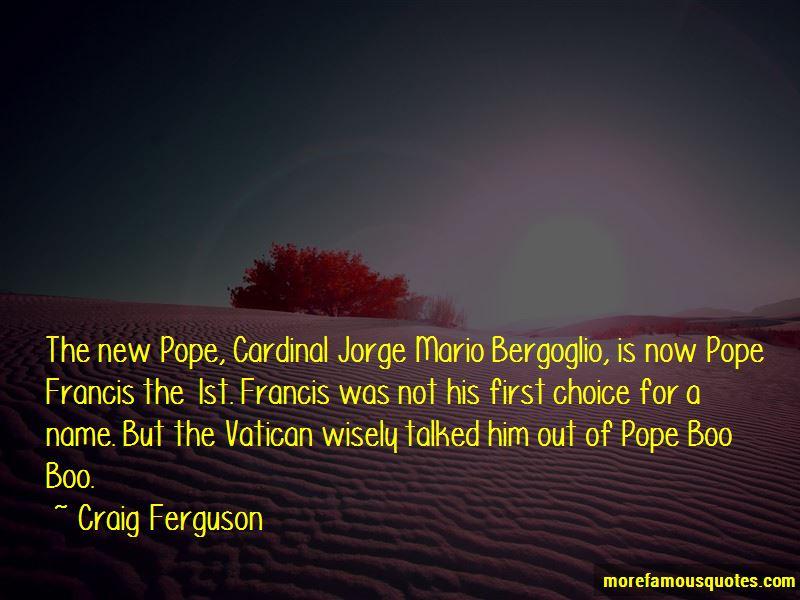 Jorge Bergoglio Quotes