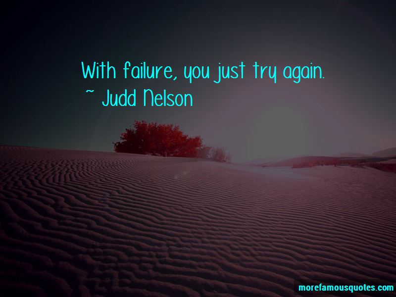 Just Try Again Quotes