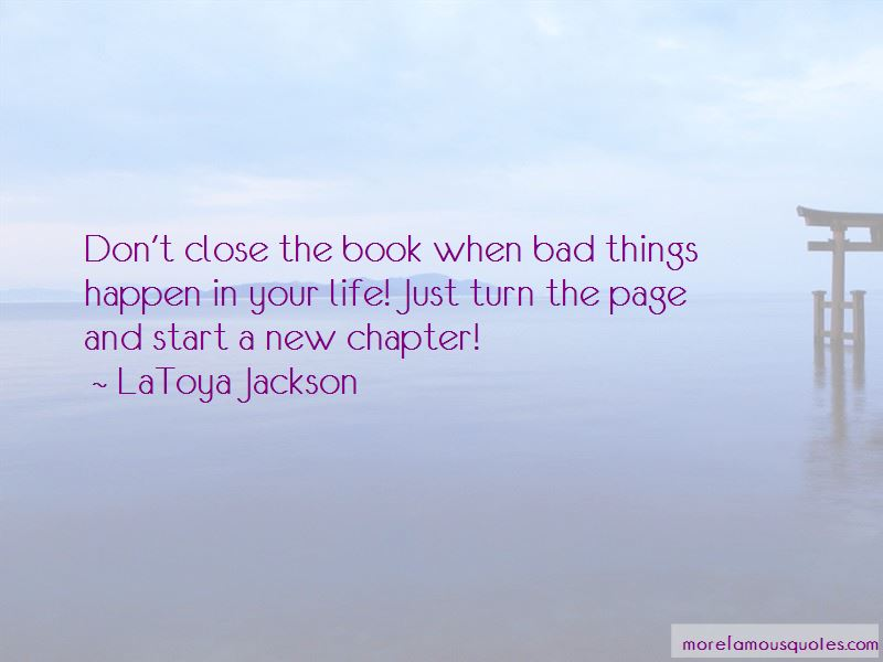 Just Turn The Page Quotes