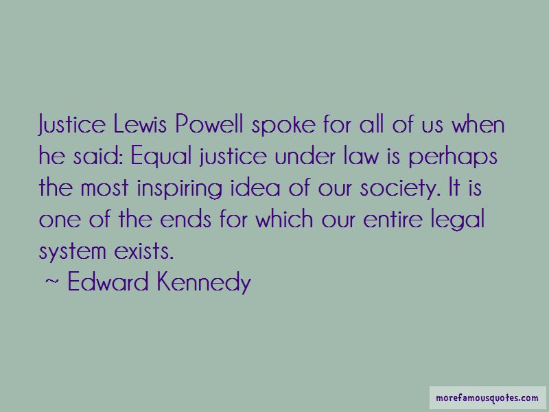 Justice Lewis Powell Quotes