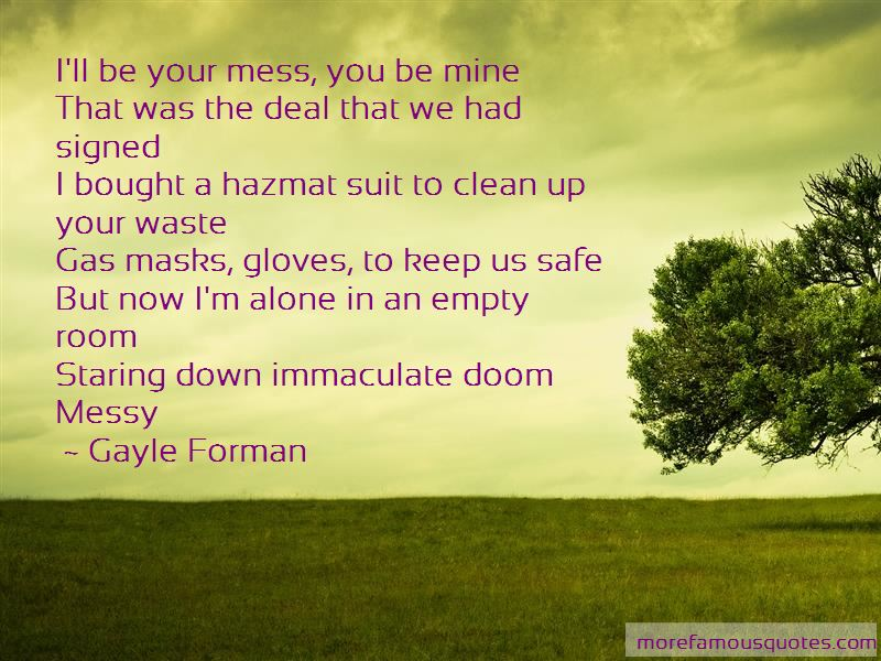 Keep Room Clean Quotes