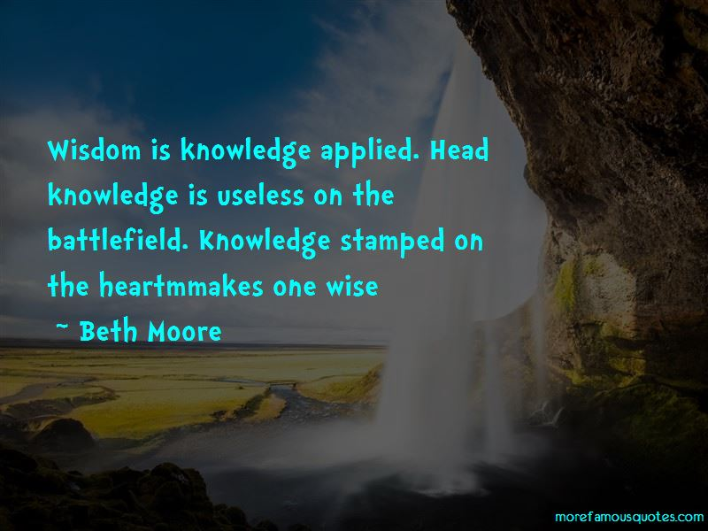 Knowledge Applied Quotes Pictures 2